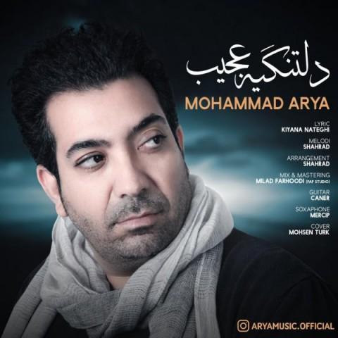 دانلود آهنگ جدید دلتنگیه عجیب محمد آریا
