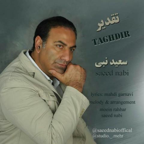دانلود آهنگ جدید تقدیر سعید نبی