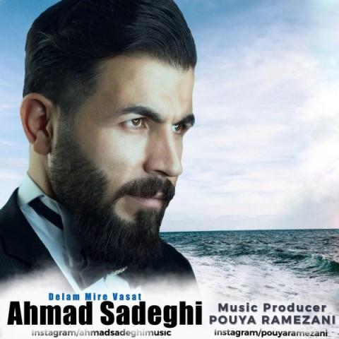 دانلود آهنگ جدید دلم میره واست احمد صادقی