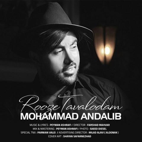 دانلود آهنگ جدید روز تولدم محمد عندلیب