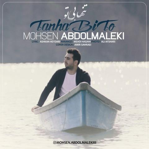 دانلود آهنگ جدید تنها بی تو محسن عبدالملکی