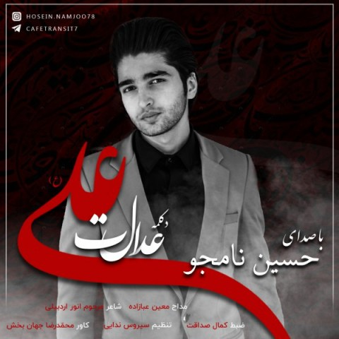 دانلود آهنگ جدید عدالت علی حسین نامجو