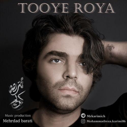 دانلود آهنگ جدید توی رویا محمدرضا کریمی